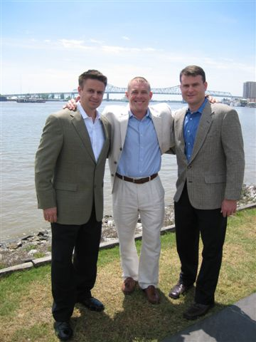 Entertainment Group, Inc's Founding Partners - Brett Hentze, Eric Dusang, and Scott Dusang