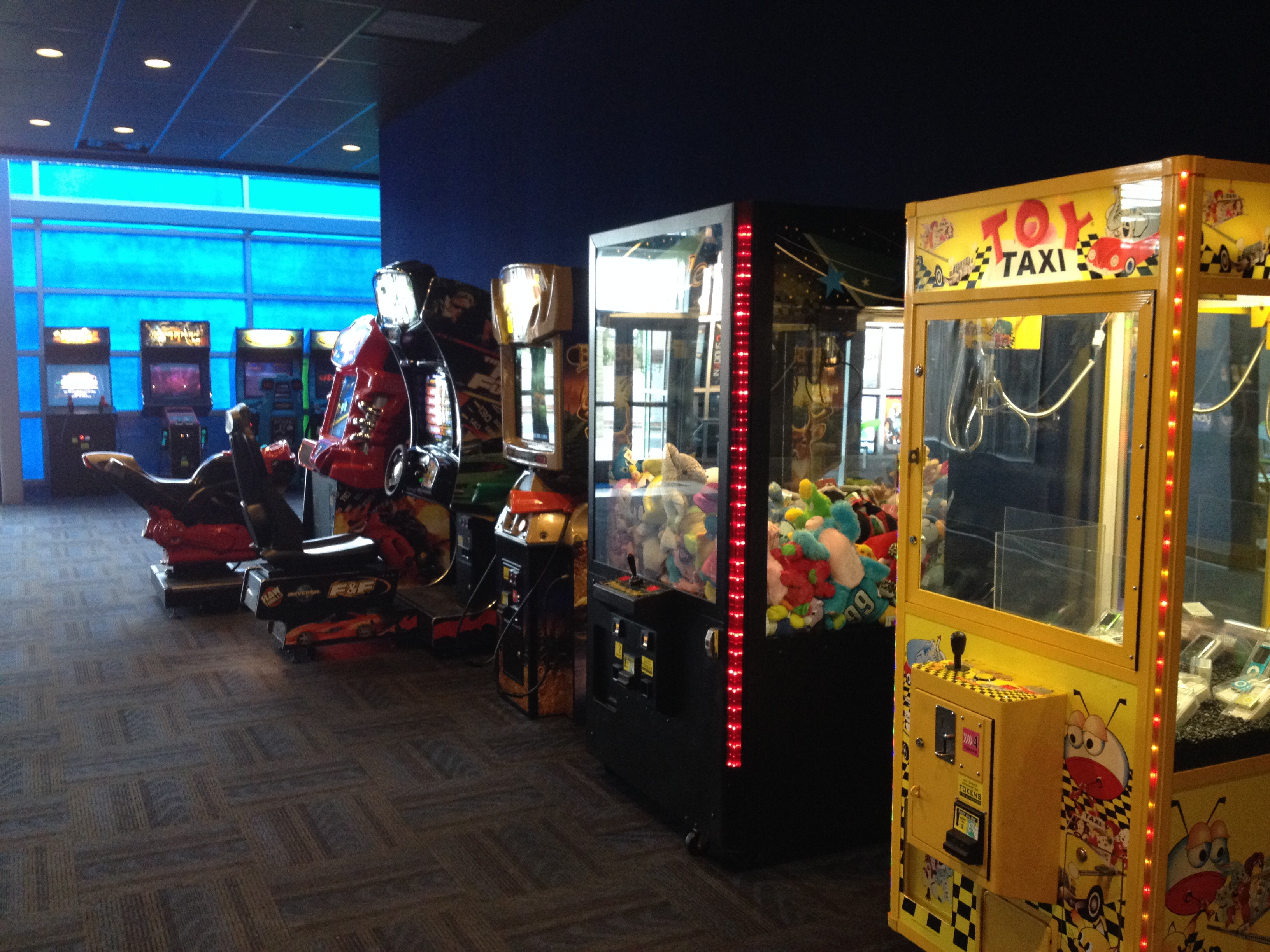 Amusement Games - Movie Theaters